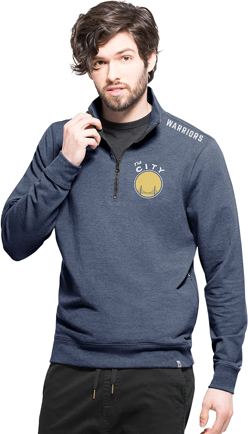 NBA Mens 47 Compete 1//4-Zip Pullover