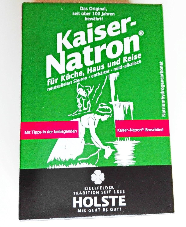 5x HOLSTE Kaiser Natron 250g Soda, Backen, kochen, waschen, reinigen ...