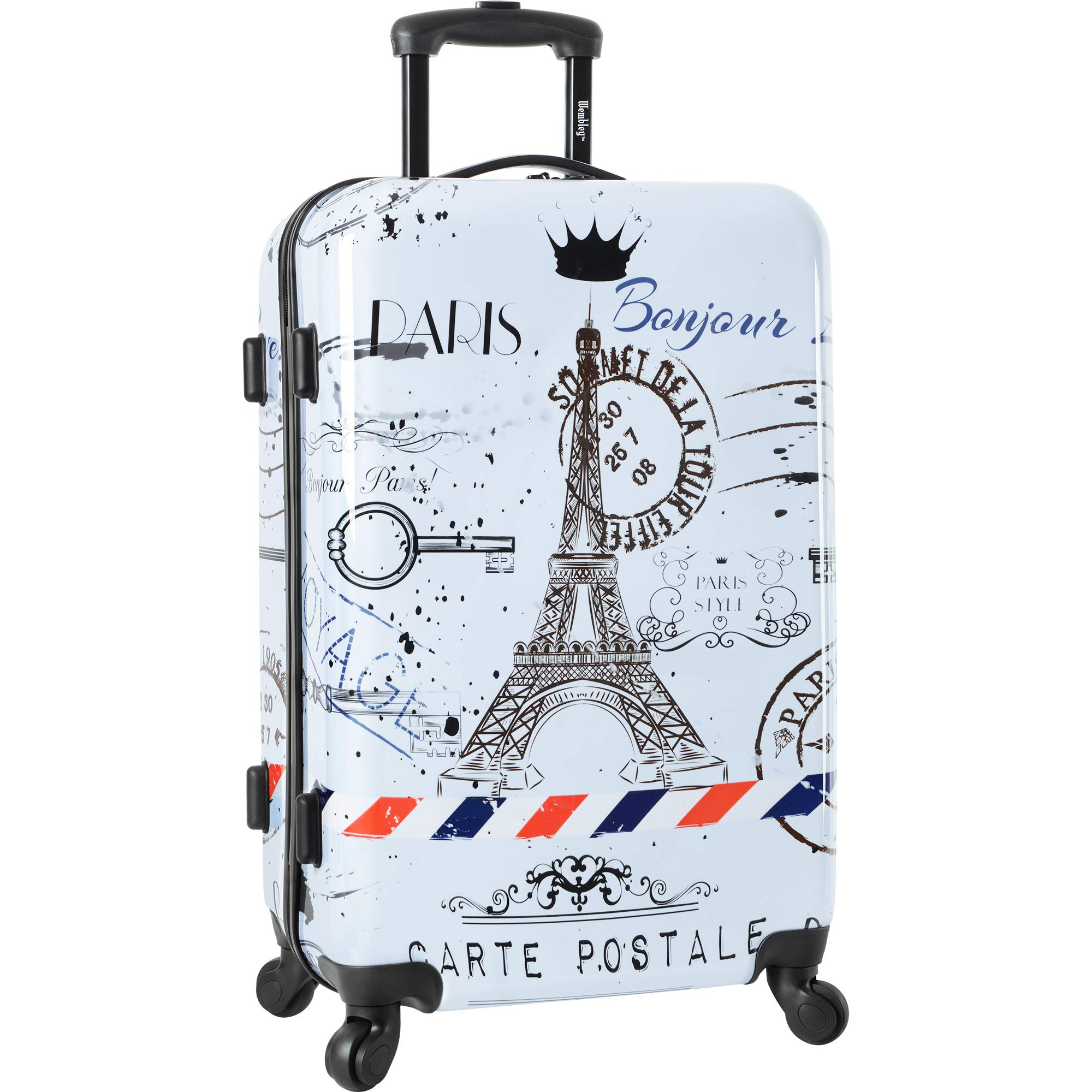 Wembley 28'' Harside 4wheel Spinner Luggage, Love From Paris