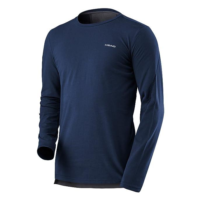 Head Cabeza Hombres de transición LS Shirt: Amazon.es: Deportes y ...