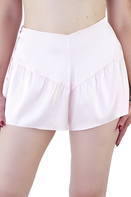 1940s Lingerie- Bra, Girdle, Slips, Underwear History Playful Promises Bettie Page Lingerie Womens Ladies Peach French Knickers Panties Underwear £25.00 AT vintagedancer.com