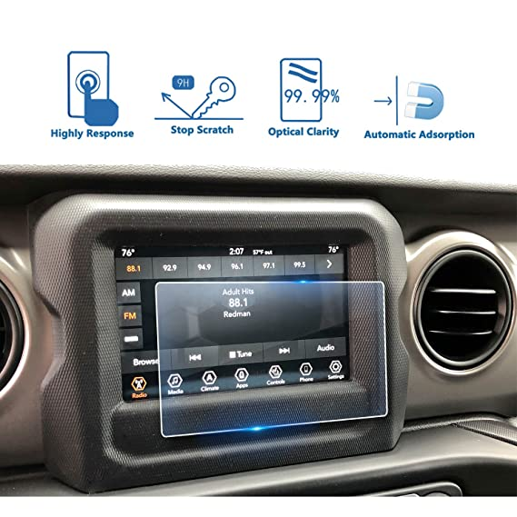 uconnect 7  : 2018 Jeep Wrangler Uconnect 7 Inch Center Touch Screen ...