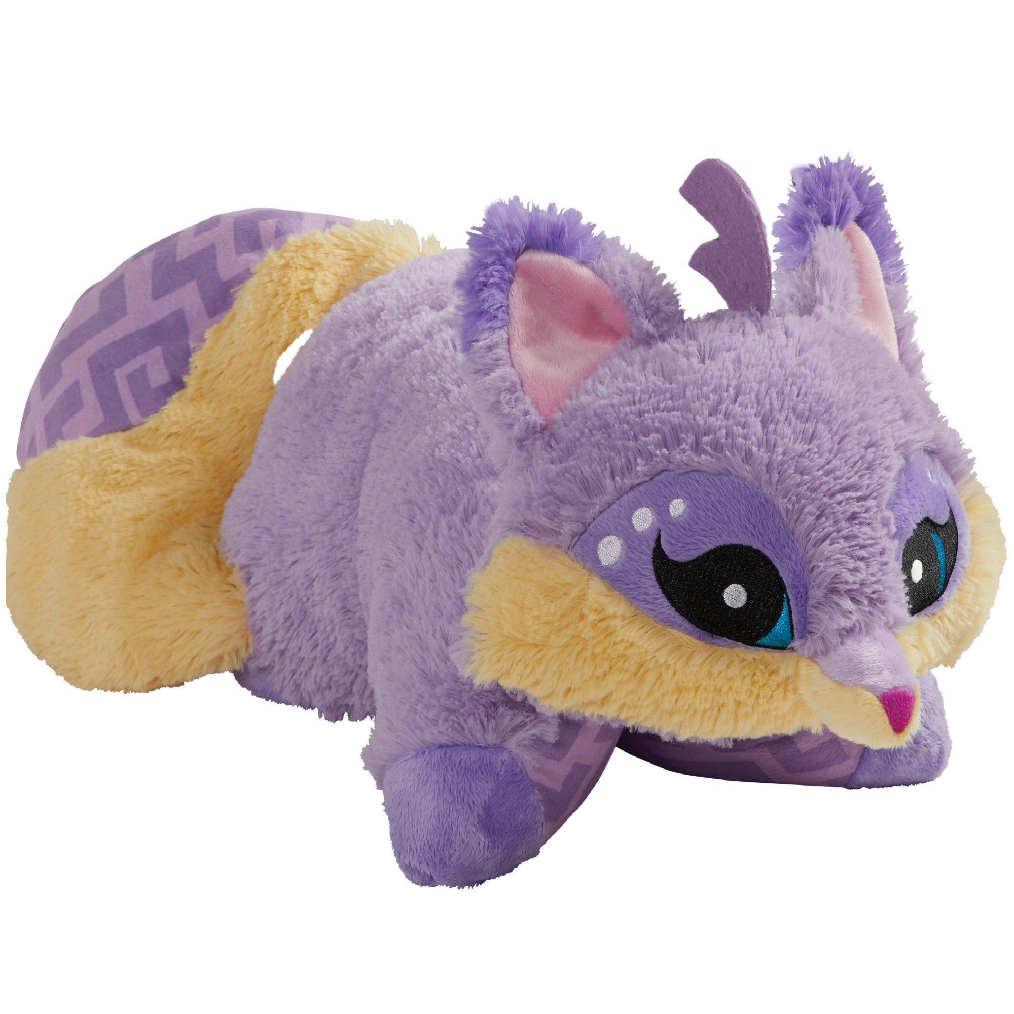 Pillow Pets Animal Jam, Fox, 16'' Super Soft Stuffed Animal Plush Toy