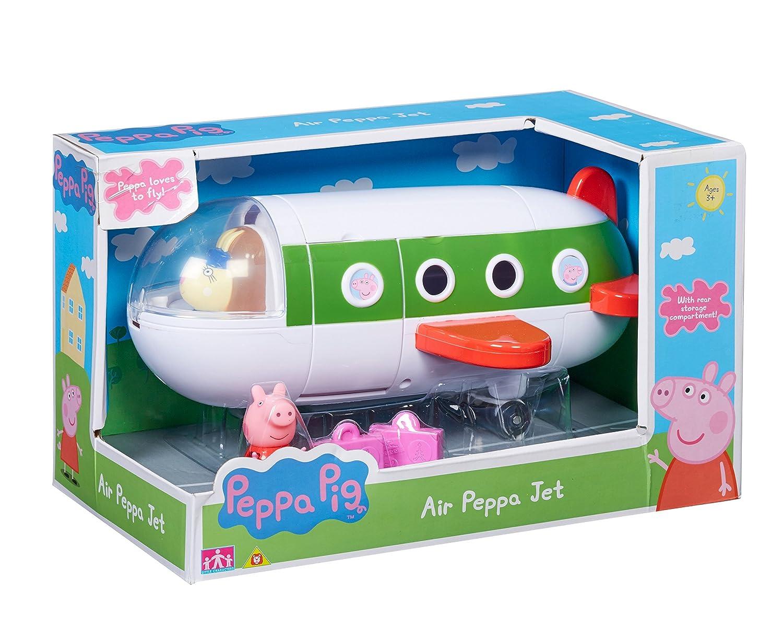 TM Toys 06227 Pig l'Aereo Privato di Peppa Confezione 1 Personaggio e Accessori Peppa Pig CO06227