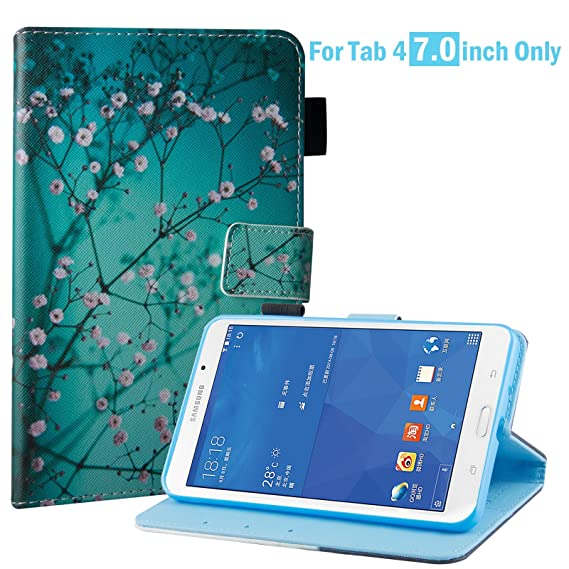 wholesale dealer f336e cf419 Galaxy Tab 4 7.0 Case, Samsung SM-T230 Case, Dteck Slim Lightweight PU  Leather Flip Stand Case with Card Slots for Samsung Galaxy Tab 4 7- inch ...