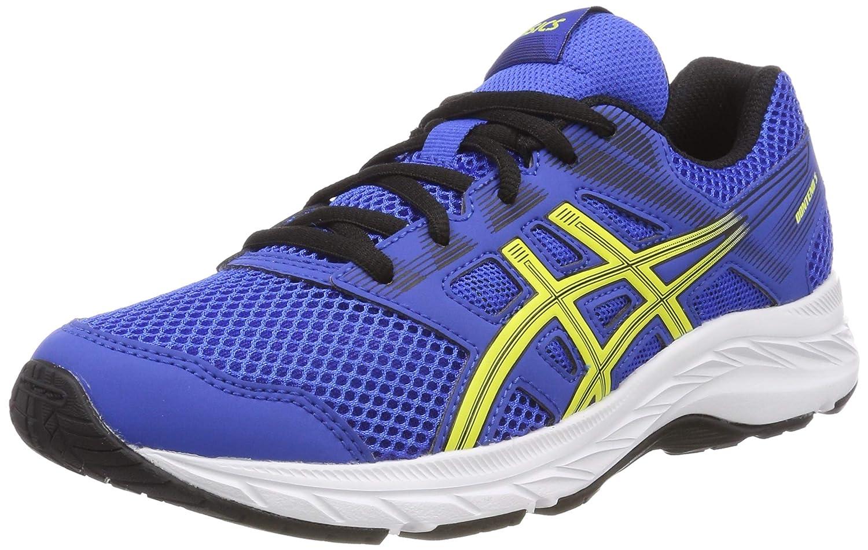 MultiCouleure (Illusion bleu Lemon Spark 401) ASICS Contend 5 GS, Chaussures de Running Compétition garçon 38 EU