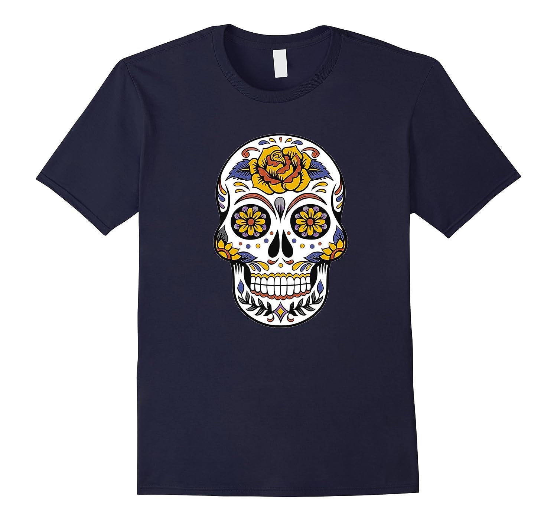 Awesome Sugar Skull T shirt-TH