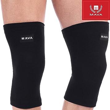 Mava Sports flexible – Rodillera 2 pares | para mayor estabilidad ...