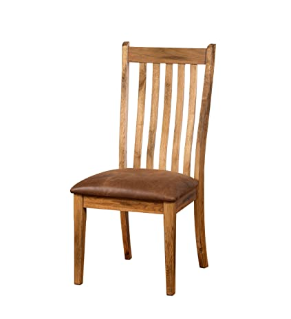Sunny Designs 1408RO CT Sedona Side Chair, Rustic Oak