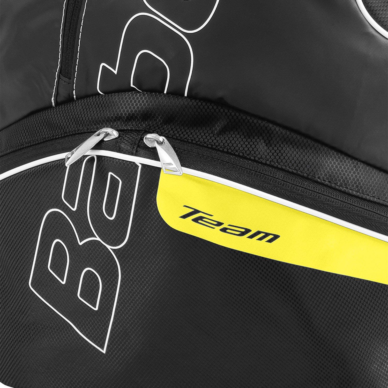 Talla /Única Unisex Adulto Amarillo Babolat Team Line Bolsas para Material de Tenis