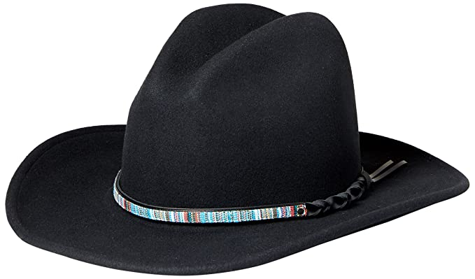 6ffc343140654 Image Unavailable. Image not available for. Color  Bailey Western Men s  Covert Packable Litefelt Western HAT ...