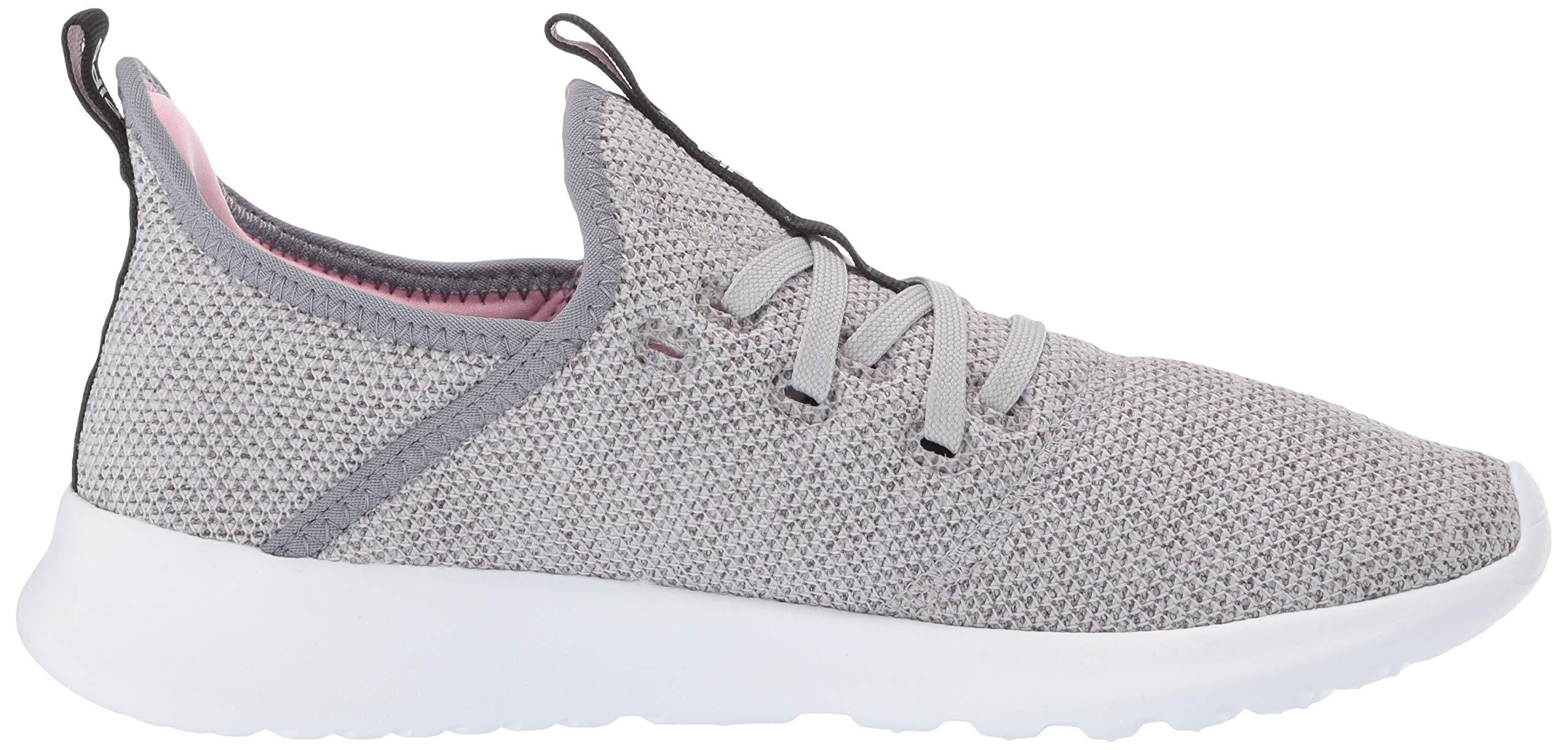 adidas Women's Cloudfoam Pure, Grey/True Pink, 5.5 M US by adidas (Image #7)