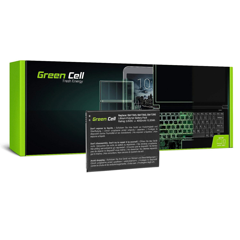 Green Cell® Batterie Samsung Galaxy Tab Active 8.0 SM-T360 SM-T365 T360 T365 Tablet (4050mAh 3.8V Noir) Green Cell PRO TAB44_FR_N_2