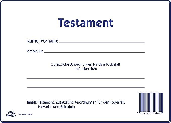 Testament Muster Vorlagen In Osterreich Erbrechtsinfo At