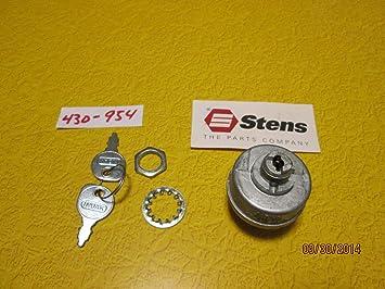 Starter Schalter ersetzt Toro 27–2360 Jacobsen 131095 Stens 430–954 ...