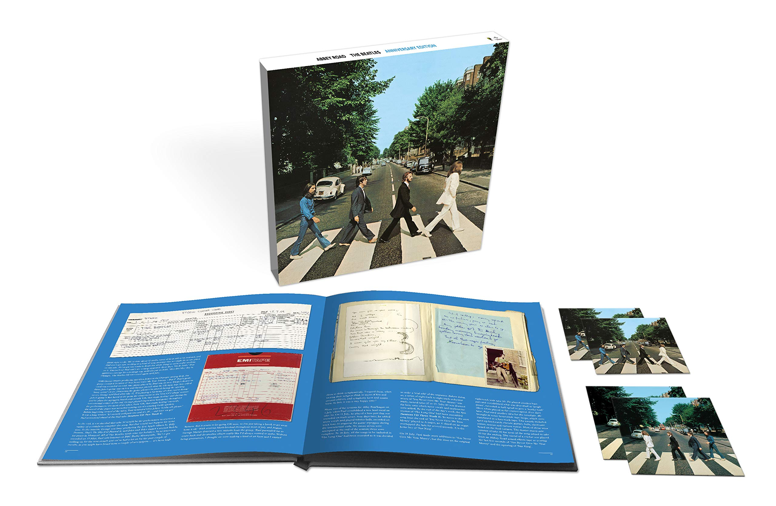 Abbey Road Anniversary [3 CD/Blu-ray Super Deluxe] by Capitol