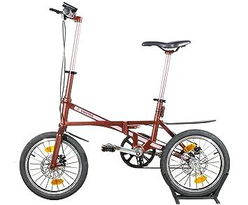 """16 """"carbonfaser bicicleta plegable Nueva sólo 7 ..."""