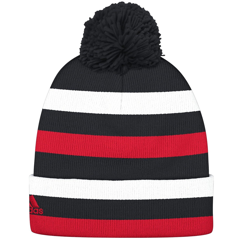 Amazon.com   NBA Brooklyn Nets Men s Standout Cuffed Knit Hat with ... d49248521