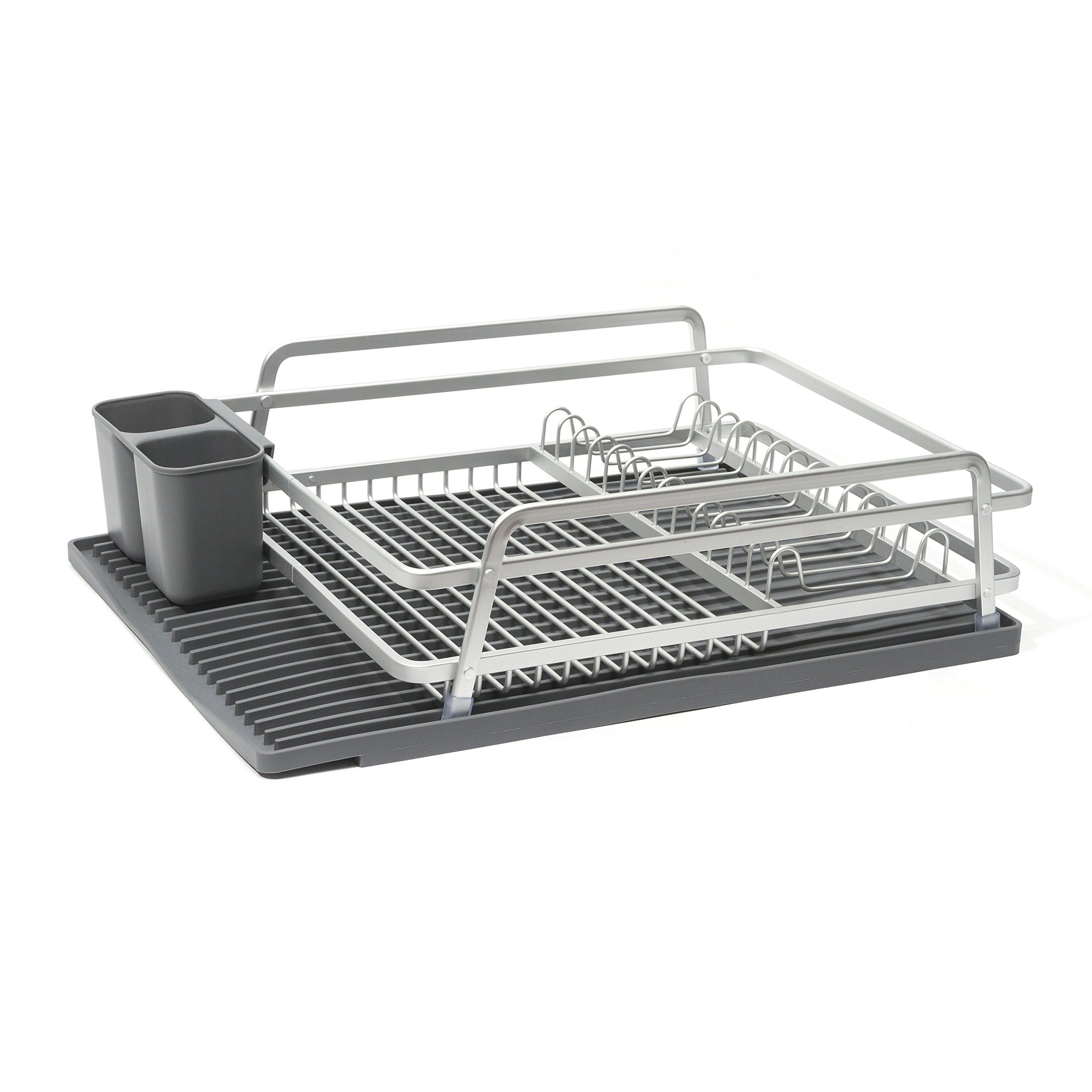ta da TDDR100DSLG Dish Rack, Light Grey