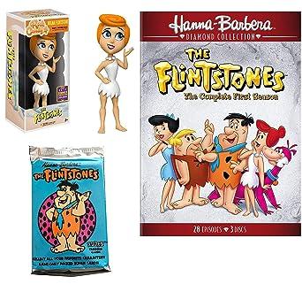 Amazon Com Bedrock Cartoon Dvd Collection Figure Pack Flintstones Season Watch The Stone Age Family Tv Classic Show Movies Tv