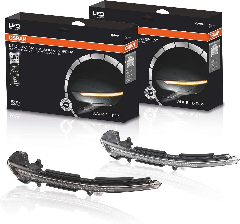 Osram Leddmi 5f0 Bk S Ledriving Dynamischer Led Spiegelblinker Black Edition Set Of 2 Auto