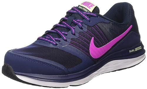 Nike Dual Fusion X - Zapatillas para Mujer, Color Azul, Talla 38: Amazon.es: Zapatos y complementos