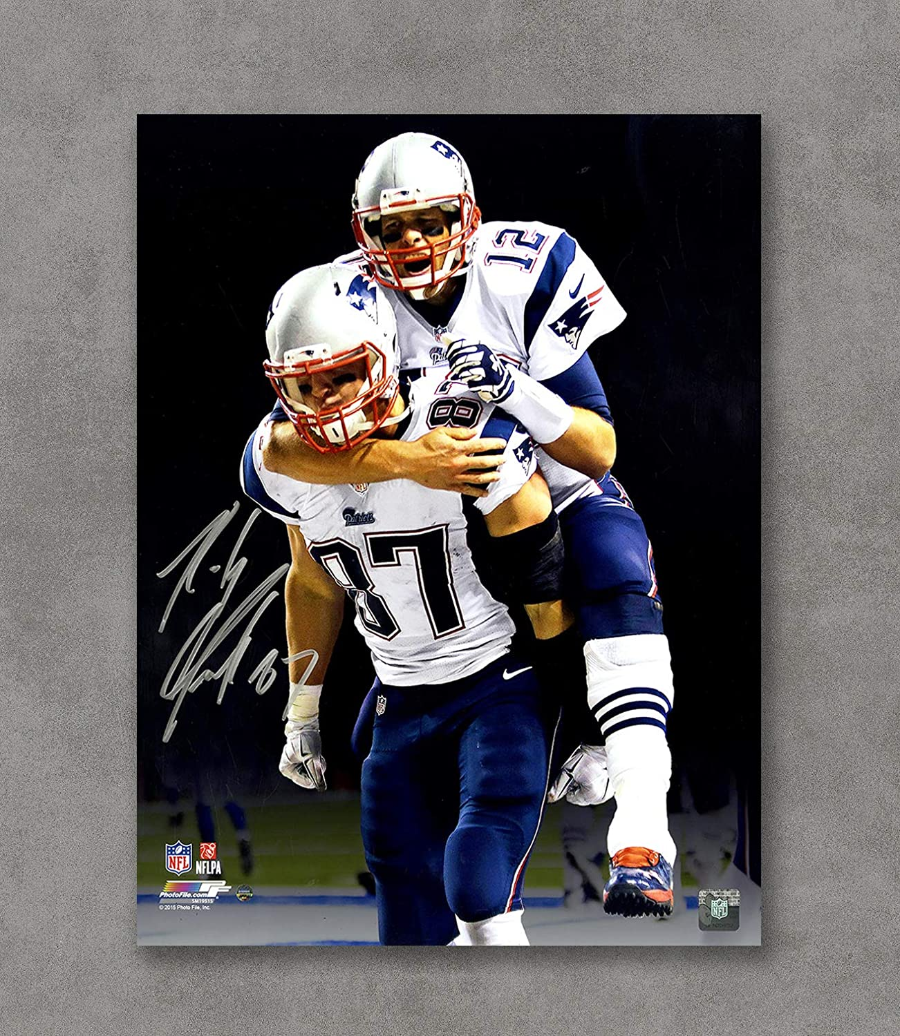 Kai'Sa Tom Brady Patriots Autographed Poster Art Print Posters,18''×24'' Unframed Poster Print