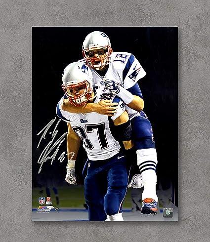 Image Unavailable. Image not available for. Color  Kai Sa Tom Brady Rob  Gronkowski New England Patriots ... c8b7f99c7
