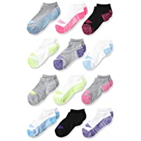 Girls' Cool Comfort No Show Socks (12 Pack)