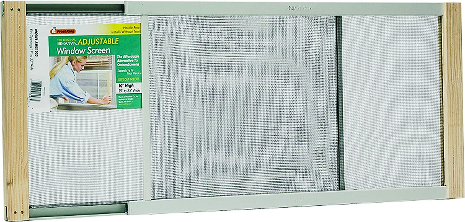 Frost King Wb Marvin Aws1545 Adjustable Window Screen, 15in High X Fits  2545in Wide  Small Window Screen  Amazon