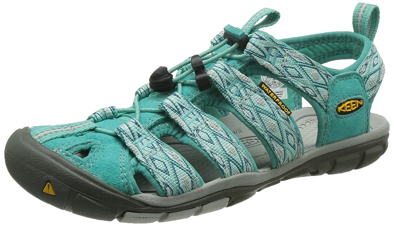 KEEN Women's Clearwater CNX Sandal B00ZG2YSA0 5.5 B(M) US|Lagoon/Vapor