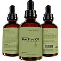 Purest Tea Tree Oil Essential Oil by Skin Radiance® - High Grade Tea Tree Essential Oil 100% - Cruelty Free & Vegan - Mix with Your Own Shampoo, Face Wash, Body Wash for Fantastic Results. Huge 50ml