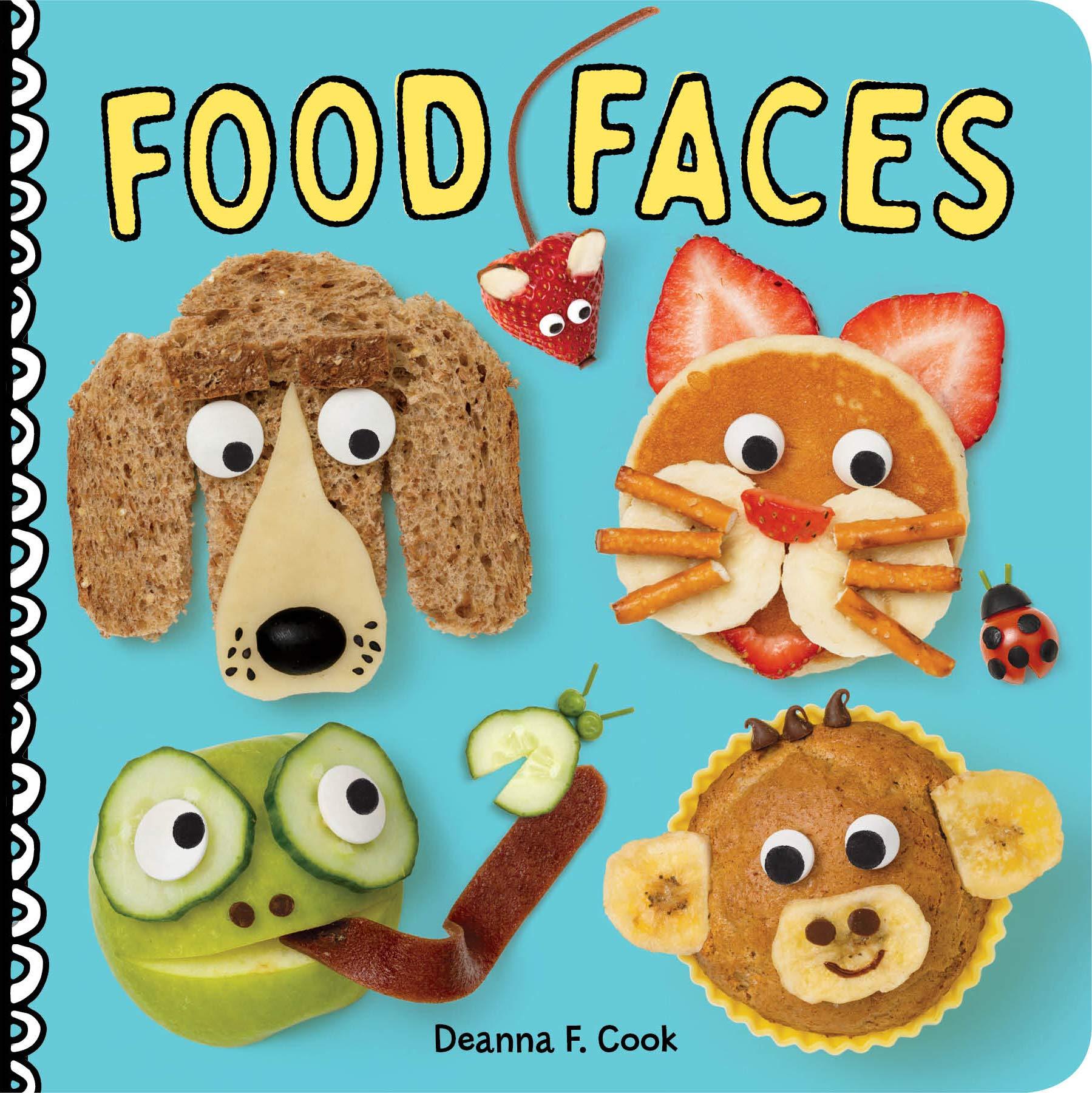 Food - Food Faces Board Book