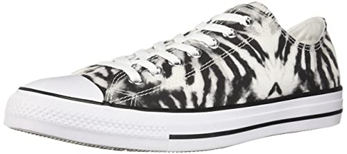 d499faa601966 Converse Unisex Adults' CTAS Ox White/Black Trainers