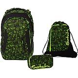 Satch Schulrucksack-Set 3-tlg Sleek Green Bermuda 9K9 green bermuda