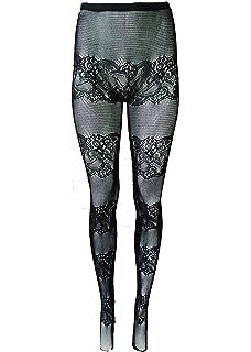1cbc4063a58bd Yelete Killer Legs Women's Fishnet Pantyhose, Black, One Size, Fits 5' -