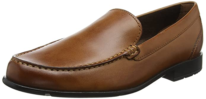 Rockport Classic Loafer Penny Dark Brown, Mocassins Homme, Marron (Dark Brown), 46 EU