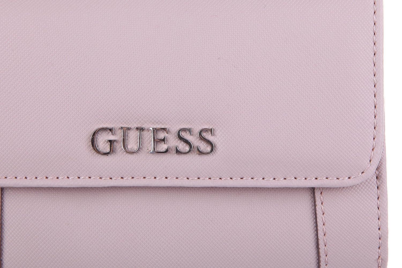 Guess monedero cartera bifold de mujer nuevo delaney rosa ...