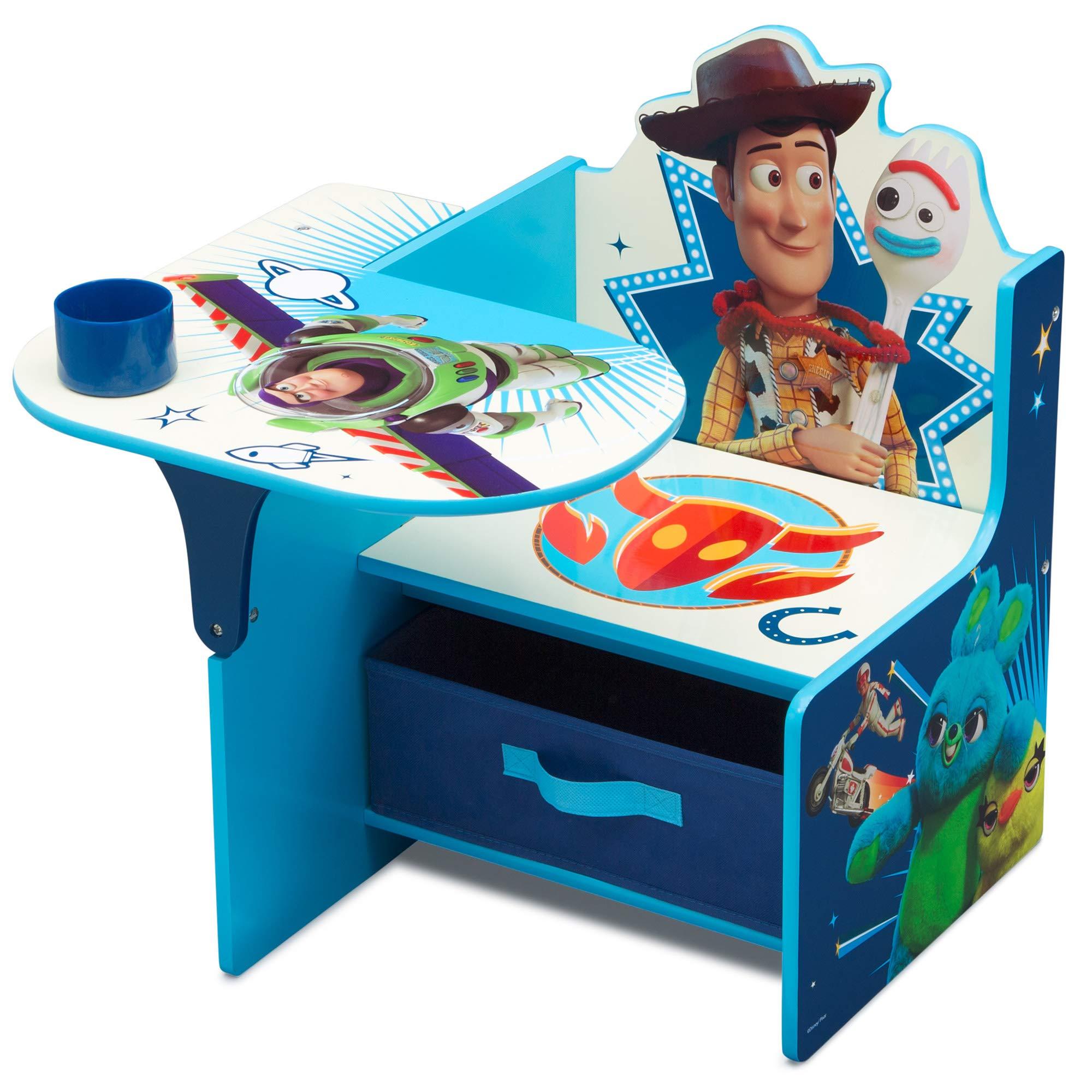 Children Chair Desk with Storage Bin, Disney Toy Story 4 by Delta Children