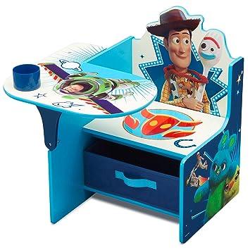 Fine Delta Children Chair Desk With Storage Bin Disney Pixar Toy Story 4 Pabps2019 Chair Design Images Pabps2019Com