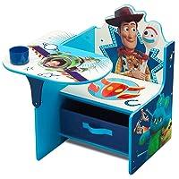 Delta Children Chair Desk with Storage Bin - Ideal for Arts & Crafts, Snack Time, Homeschooling, Homework & More, Disney/Pixar Toy Story 4