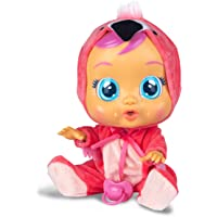 Deals on Cry Babies Fancy The Flamingo Doll