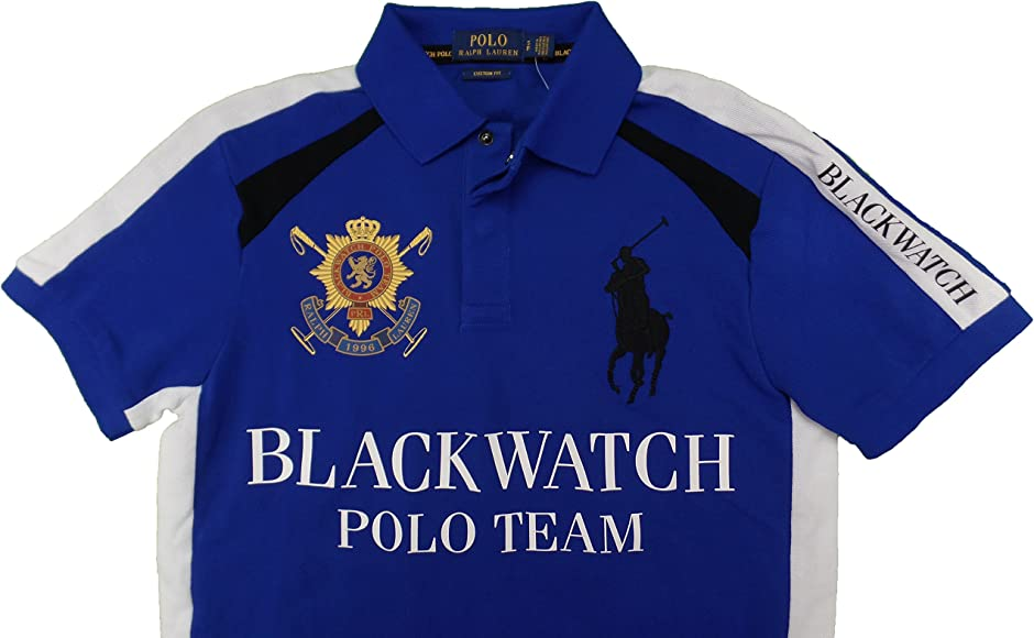Fit Polo Mens Custom Blackwatch Shirt xrBoedC