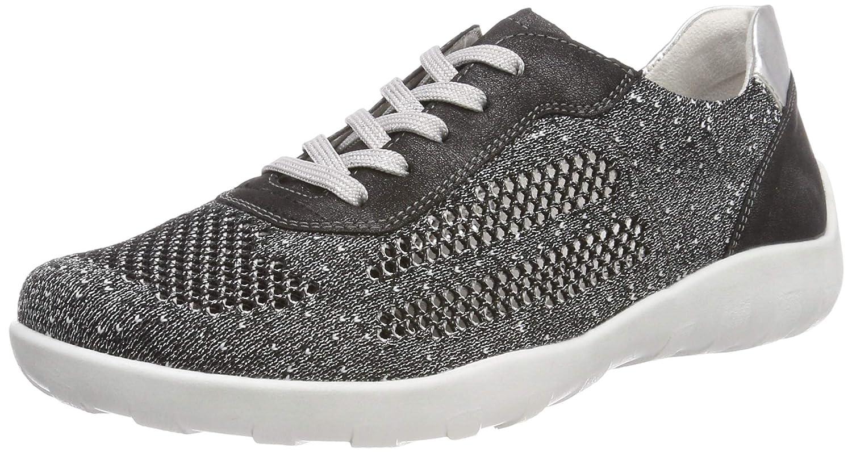 Black (black-silver Graphit 02) Remonte Women's R3503 Low-Top Sneakers
