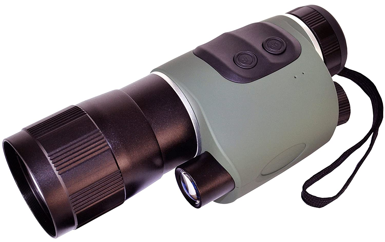 Luna Optics HR wide-viewナイトビジョンMonocular 5 x Openデモボックスln-nvm5-hr B07589M9M6