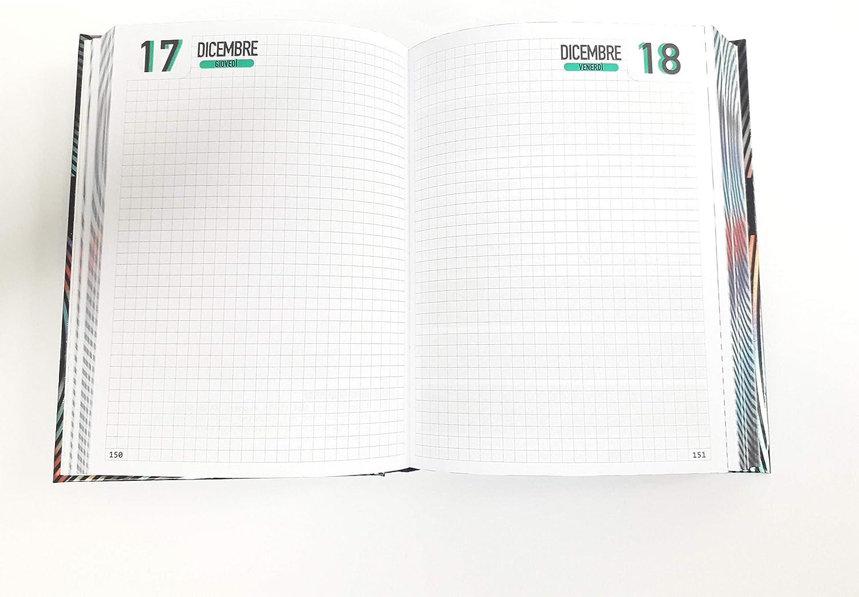 DIARIO DIVENTONE 2020-2021 EDIZIONE SPECIALE STANDARD DATATO 16 MESI 13X18 ROSSO MULTICOLORE