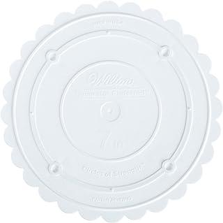 Wilton Decorator Preferred - Piatto distanziatore per Torte, con Bordi smerlati, 17,7 cm