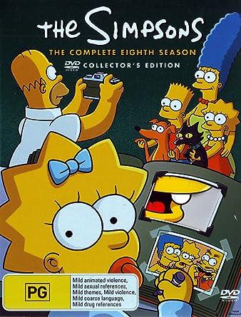 Amazon Com The Simpsons Season 8 4 Discs Non Usa Format Pal Region 4 Import Australia Movies Tv