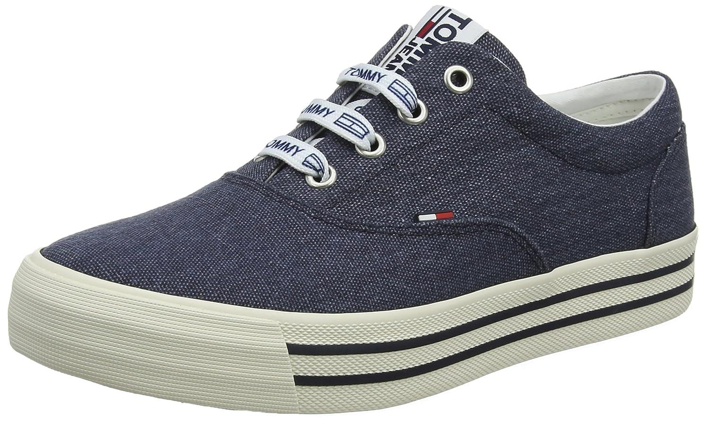 Hilfiger Denim Damen Tommy Jeans Sneaker Blau (Midnight 403)