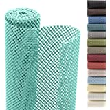 Smart Design Shelf Liner Classic Grip - (12 Inch x 10 Feet) - Drawer Cabinet Non Adhesive Protection - Kitchen [Mint]